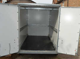 Low mileage, one owner 2 axle box trailer in good order