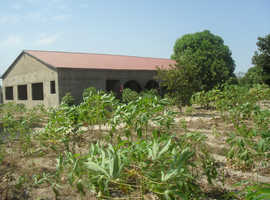 Building Land for sale in the gambia. Also part built Bungalow for sale