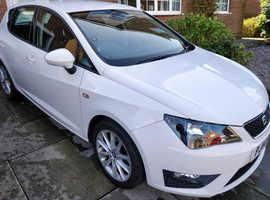 Seat Ibiza FR 1.2, 2014 (14) White 5-door Hatchback, Manual Petrol, 48,000 miles