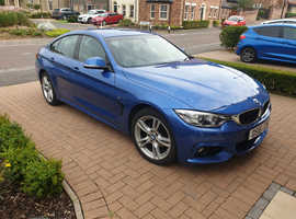 BMW 420i M Sport, 2016 (16) Blue Coupe, Automatic Petrol,  28700 miles