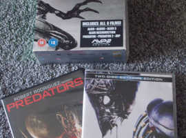 Two Sets of DVD's for Sale.