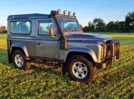 Land Rover 90, 2010 (60) grey 4x4, Manual Diesel, 71900 miles