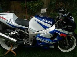 Suzuki GSXR600 K1 blue/white