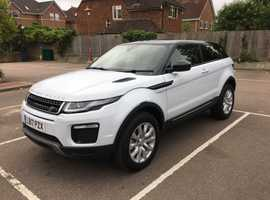 Land Rover Range Rover Evoque, 2017 (17) White Coupe, Manual Diesel, 36,000 miles