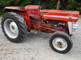 MASSEY FERGUSON 135 RUNNING DRIVING FIXER UP TRACTOR CAN DELIVER SEE VIDEO