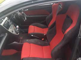 Honda Civic, 2006 (06) Black Hatchback, Manual Petrol, 126,700 miles