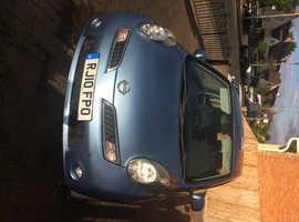 Nissan Micra, 2010 (10) Blue Hatchback, Automatic Petrol, 7,255 miles
