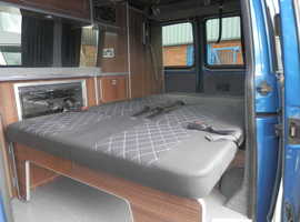 EASY TO USE M1 TESTED ROCK AND ROLL BED AND UPHOLSTERY/ EXCHANGE  SERVICE FOR VW TRANSPORTER CAMPERVAN