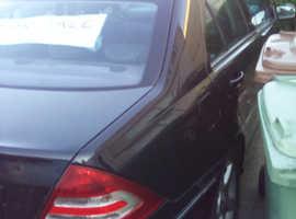 Mercedes C CLASS, 2005 (05) Black Saloon, Automatic Petrol, 118,807 miles
