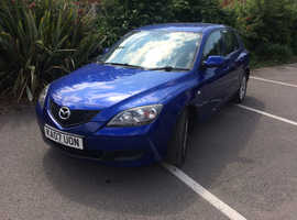 Mazda Mazda3, 2007 (07) Blue Hatchback, Manual Petrol, 67,950 miles 2 Former Keepers