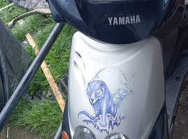 Yamaha neos 100cc moped 350 takes it