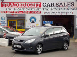 Ford C-Max, 2011 (61) Blue MPV, Manual Diesel, 56,415 miles 7 SEATER