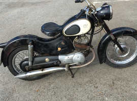 Puch svs 175 split single 1960 very rare with v5