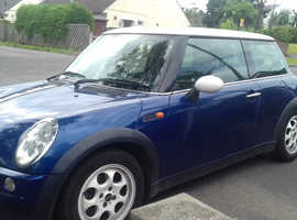 Mini MINI, 2002 (52) Blue Hatchback, Manual Petrol, 100,000 miles