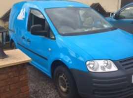 2010 VW Caddy Van Blue