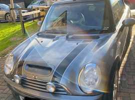 MINI Cooper S 1.6, 2005 (55) Grey Convertible, Manual Petrol, 65,553 miles