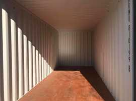20FT 160 SQ FT BRAND NEW SHIPPING CONTAINER STORAGE HIRE RENT ATHERTON MANCHESTER