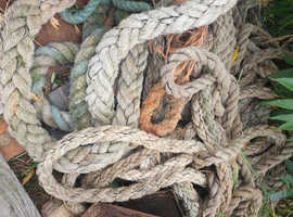 mooring and mooring ropes for sale ,barter and p/x