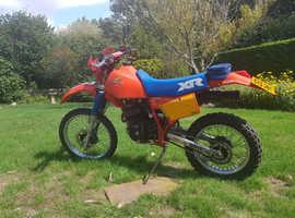 Honda XR 1985 350cc American import, Lovely bike.