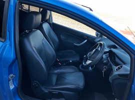 Ford Fiesta, 2009 (59) Blue Hatchback, Manual Petrol, 139,000 miles