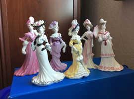Coalport Figurines