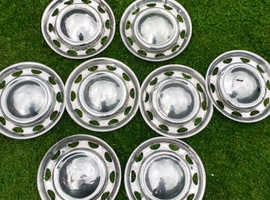 Mk one hub caps