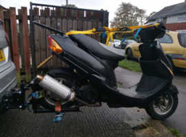 Moped /scooter towing dolly
