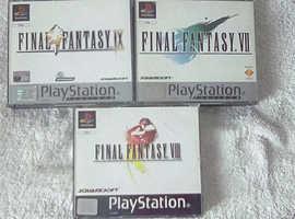 PlayStation 1 Games.. Final Fantasy