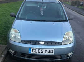 Ford Fiesta, 2005 (05) silver other, Manual Petrol, 130,000 miles