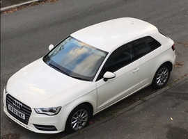 Audi A3, 2012 (62) White Hatchback, Manual Diesel, 55,752 miles