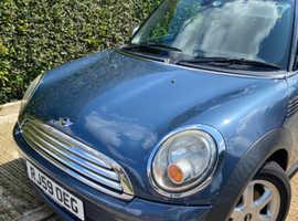 Mini MINI, 2009 (59) blue hatchback, Manual Petrol, 109,025 miles