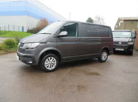 2021 (70) VW T6.1 in Indium Grey 150BHP - Highline, SWB Campervan - Awaiting Conversion