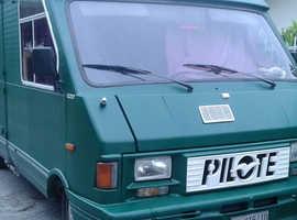 1991 Pilote Fiat turbodisel