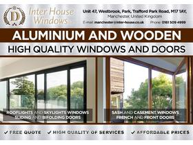 FACTORY ALUMINUM , TIMBER WINDOWS AND DOORS   directly with the manufacturer.