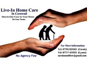 Private Mature Live-In Carers:  Offering High Level Care In Your Home