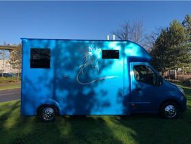 2015 VAUXHALL MOVANO, 3.5T HORSEBOX