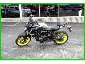 2018 Yamaha MT 07