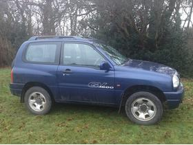 SUZUKI GRAND VITARA 1.6 2001(51) YEARS MOT  GOOD RUNNER CHEAP CAR