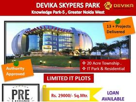 Devika Skypers Park IT Plots