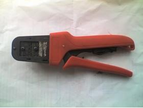 Molex 3 size Crimping Tool Model 638190900A for 16 , 18 & 20-24AWG Crimps - USED