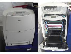 HP LaserJet 4600 Workgroup Laser Printer - Model C9660A - USED - WORKING