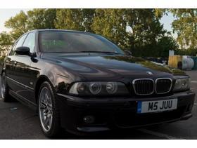 BMW M5 Series, 2001 (Y) Black Saloon, Manual Petrol, 131,000 miles