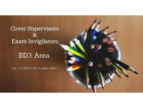 Cover Supervisors & Exam Invigilators
