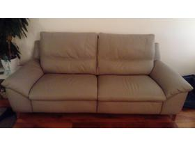 3 Seater electric Incline Leather Sofa