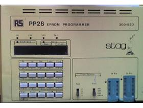 STAG PP28 (RS 300 - 530) 21 & 25v EPROM (25 & 27 Series) Programmer - WORKING