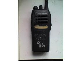 Motorola GP340 Model MDH25RDC9AN3AE 16 channel UHF Hand-held Radio  WORKING