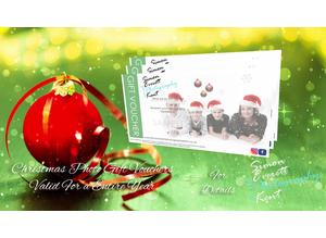 Photo gift vouchers, the perfect gift