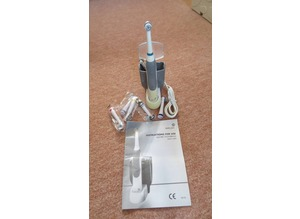 Electric Rechargeable Toothbrush with 8 new detachable heads