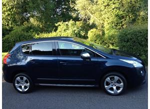 PEUGEOT 3008 1.6 HDI DIESEL 2010 ONE OWNER FROM NEW MOT 10 MONTHS FULL SERVICE HISTORY – CHEAP CAR
