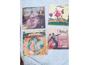 4 Collectable Musical L.P's